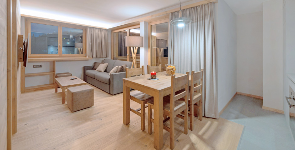 2-Zimmer-Appartement - Swisspeak Resort Vercorin