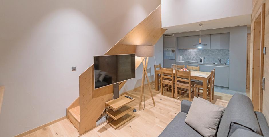3-Zimmer-Appartement Duplex - Swisspeak Resort Vercorin