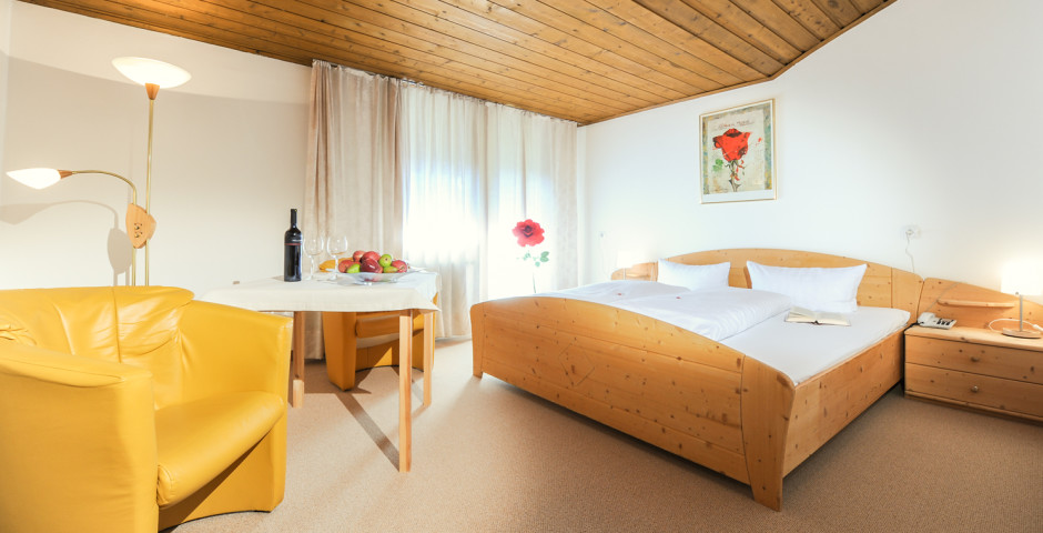 Doppelzimmer - Hotel Tirolerhof Leutasch