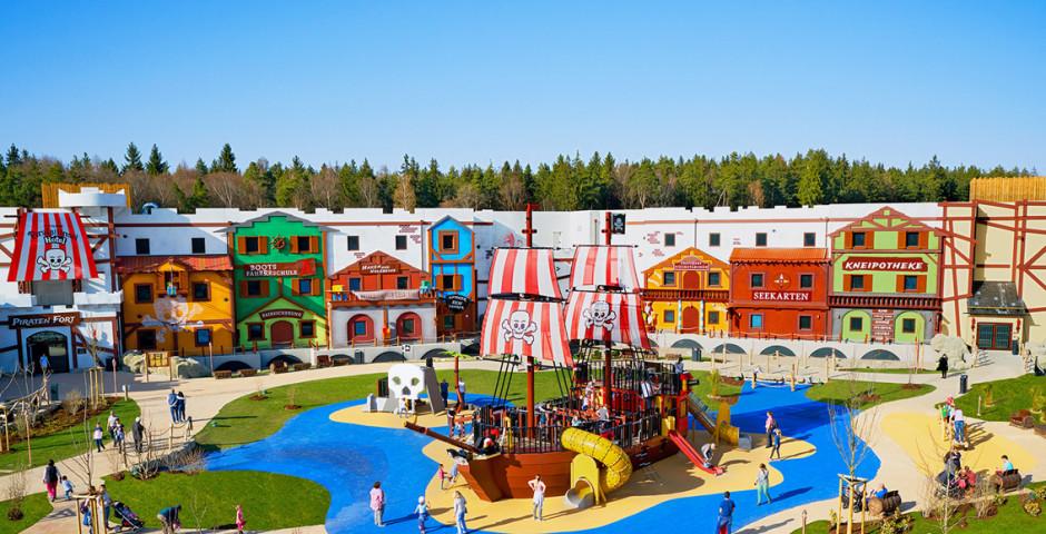 LEGOLAND® Feriendorf – Pirateninsel Hotel inkl. Parkeintritt