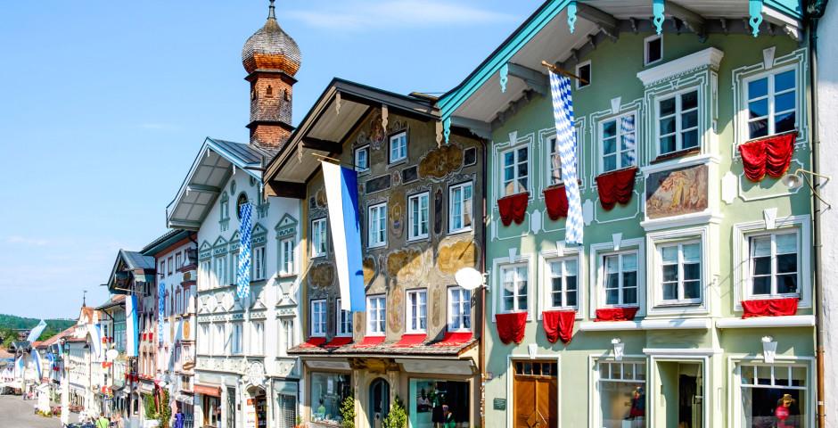 Innenstadt von Bad Tölz - Oberbayern