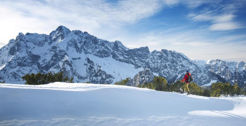 Skier au Watzmann dans le Pays-de-Berchtesgaden - District de Haute-Bavière
