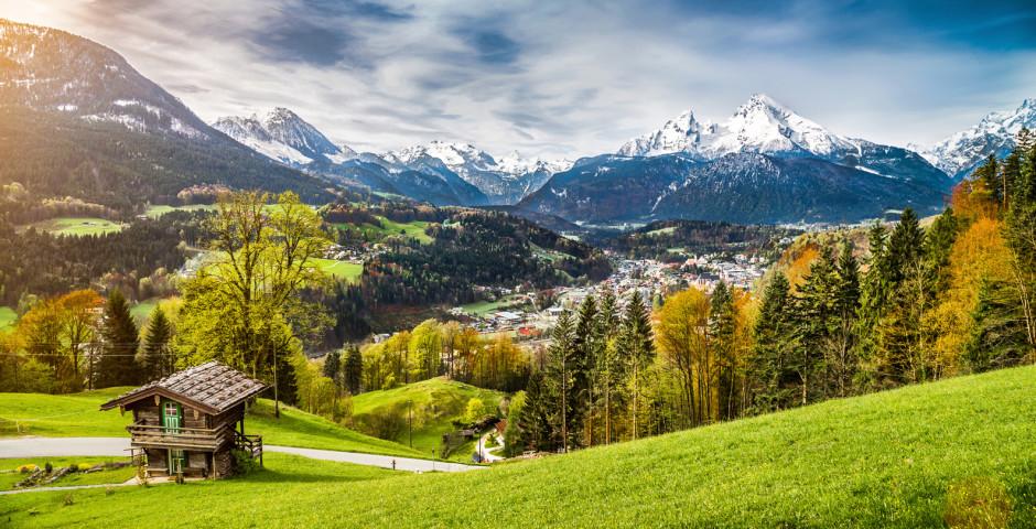 Die Landschaft rund um den Watzmann lädt zum Wandern ein - Berchtesgaden