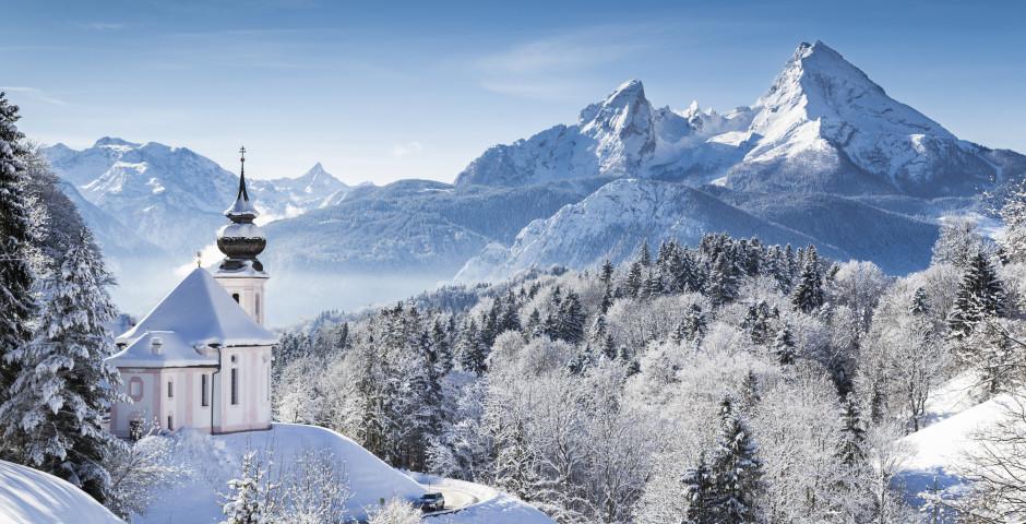 Idyllische Winterlandschaft - Berchtesgaden