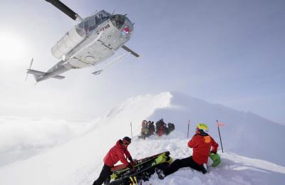 Héliski et expédition à ski