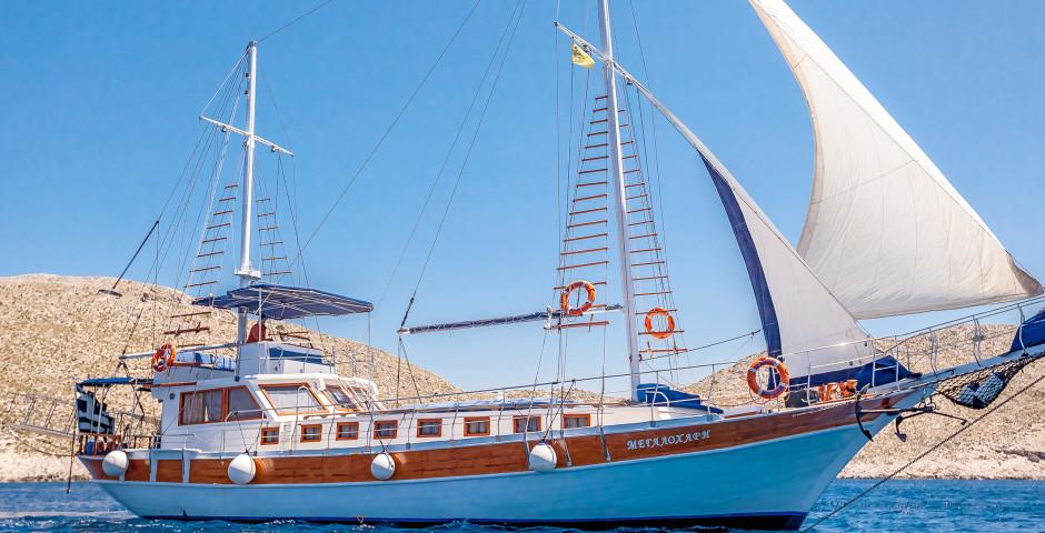 Croisière Perles du Dodécanèse, le Nord magnifique