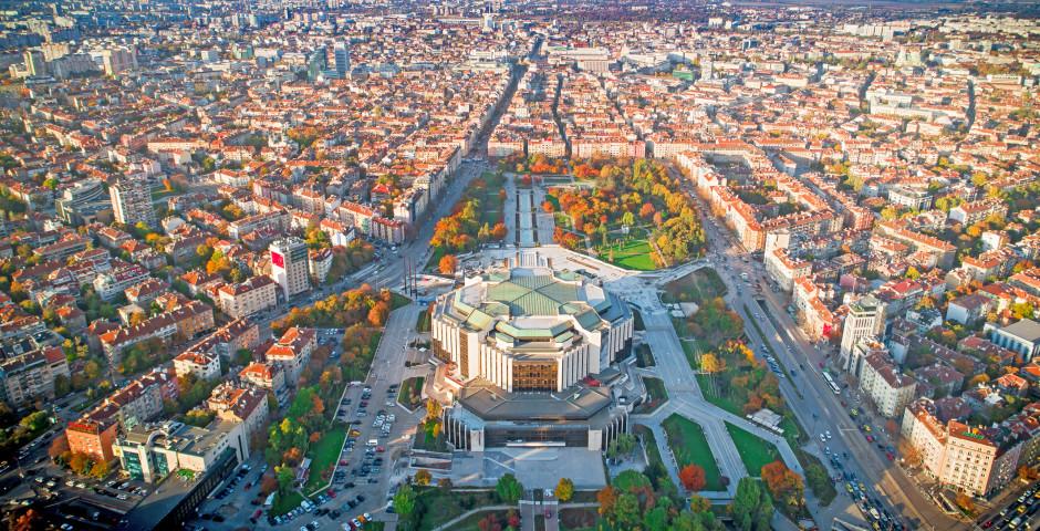 Palais national de la culture vue d'en haut