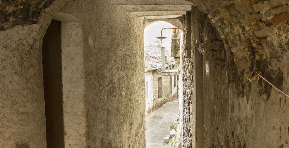 Das Dorf Nova Siri