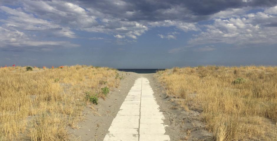 Der Strand von Nova Siri Scalo