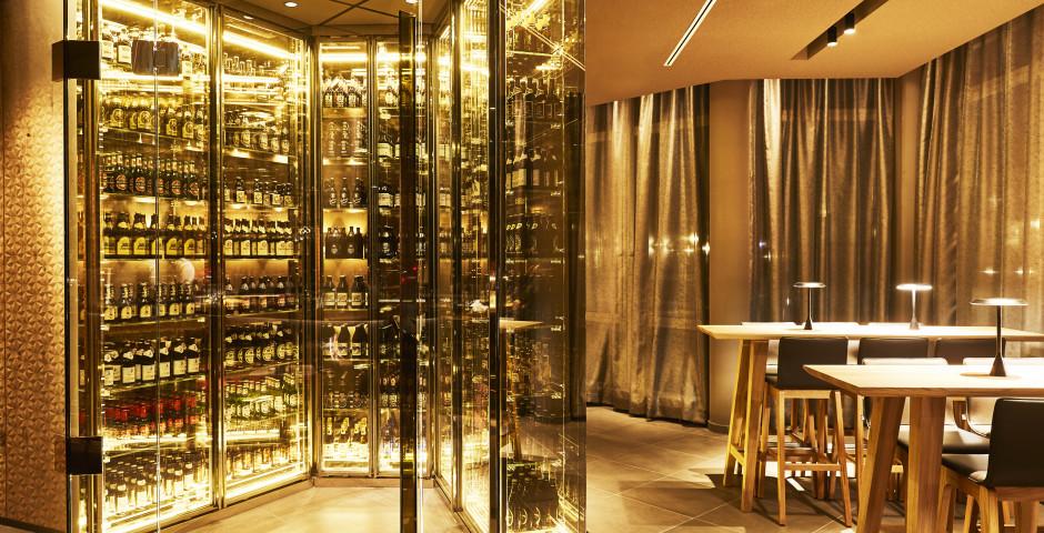 Weltweit einzigartig: Bierkristall - Steigenberger Hotel München