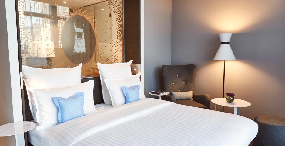 Doppelzimmer Deluxe - Steigenberger Hotel München