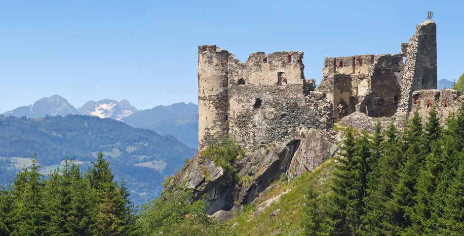 Die Ruinen des Schloss Steinschloss - Upper Austria
