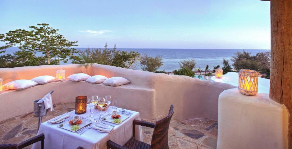 Terrasse - The Ocean SPA Lodge