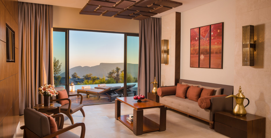 One Bedroom Cliff Pool Villa - Anantara Al Jabal Al Akhdar Resort