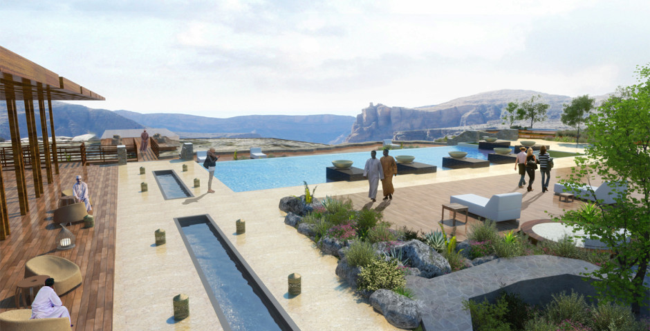 Pool - Anantara Al Jabal Al Akhdar Resort