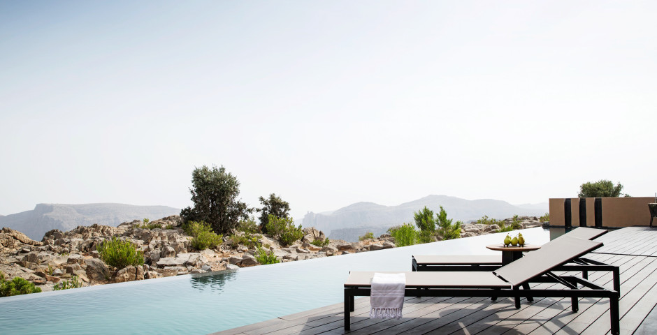 Cliff Pool Villa - Anantara Al Jabal Al Akhdar Resort