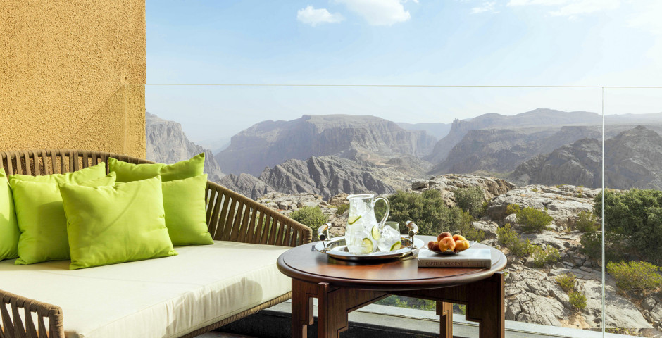 Deluxe Canyon View Room - Anantara Al Jabal Al Akhdar Resort