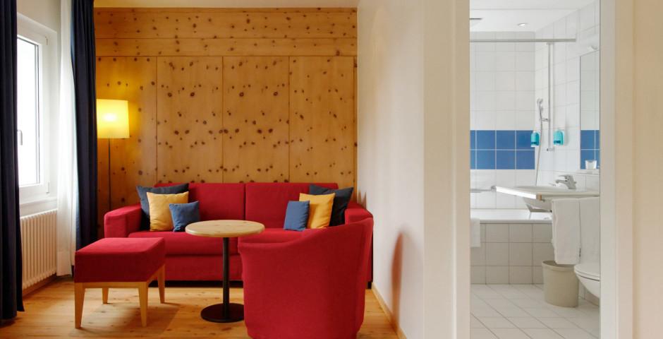 Junior Suite - Hotel Laudinella - Sommer inkl. Bergbahnen*
