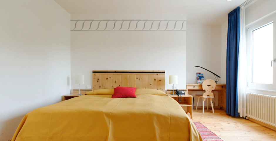 Doppelzimmer - Hotel Laudinella - Sommer inkl. Bergbahnen*