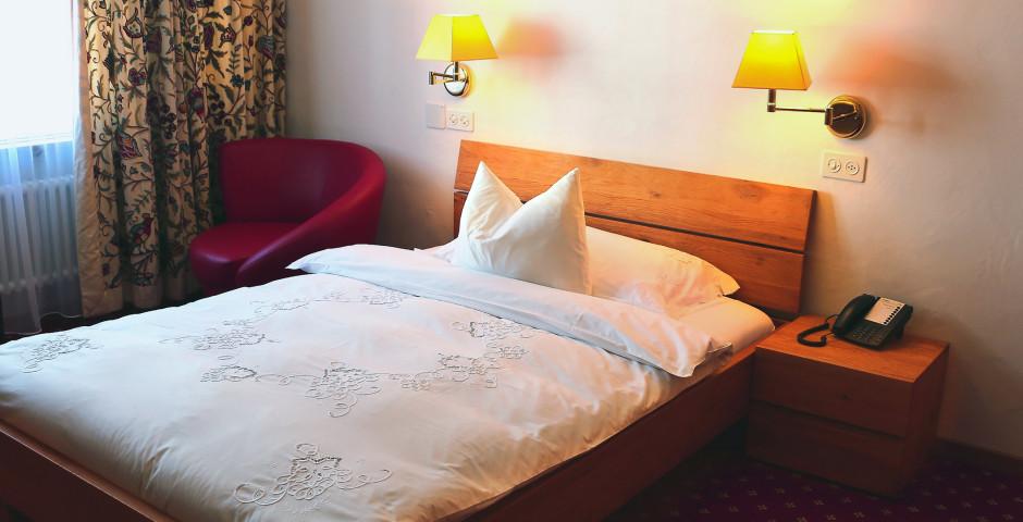 Doppelzimmer Economy - Hotel Cristallo - Sommer inkl. Bergbahnen