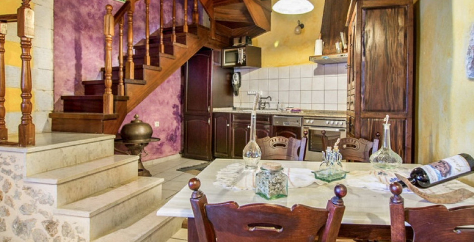 Samonas Traditional Malotira Purple Villa