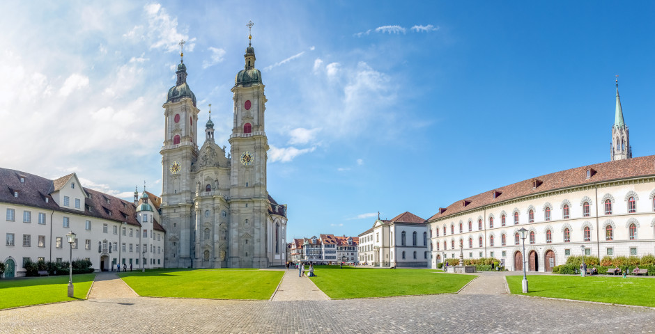 Stiftskirche in St. Gallen - St. Gallen - Bodensee