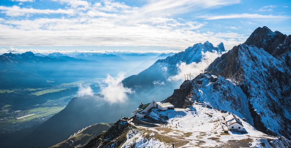 Die Hafelekarspitze nördlich von Innsbruck - Innsbruck