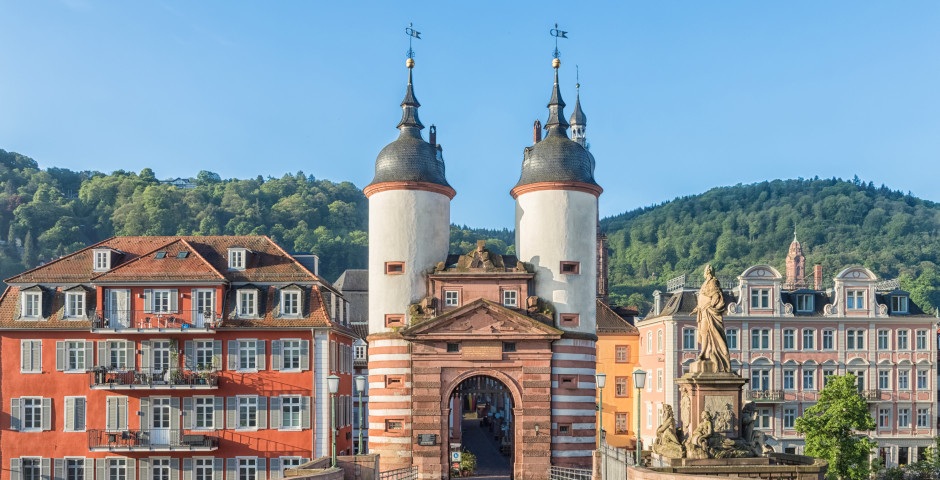 Eingang zur Stadt Heidelberg