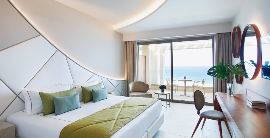 Chambre double Deluxe avec vue mer - Mayia Exclusive Resort & Spa