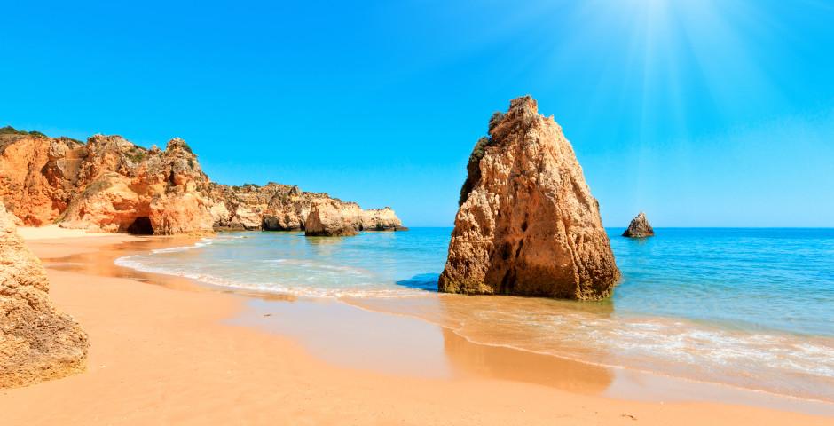 Strand bei Portimao - Schätze der Algarve