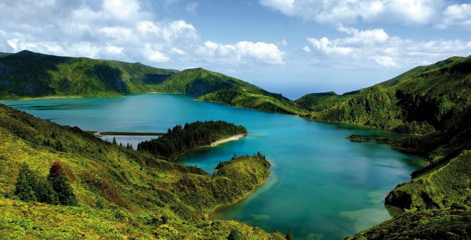 Krater Sete Cidades, São Miguel - Inselhüpfen Azoren