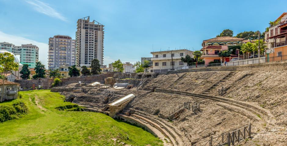 Das Amphitheater in Durres