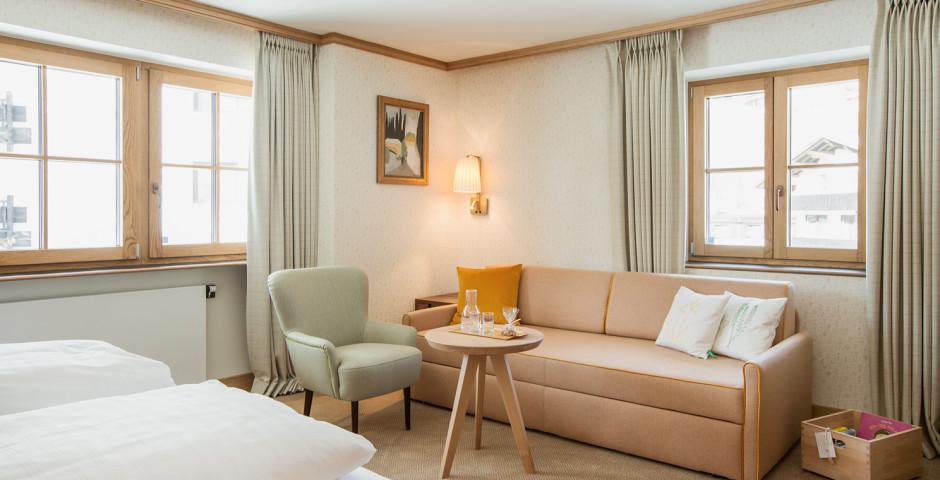 Doppelzimmer Silber (Stammhaus) - Hotel Sonnenburg Oberlech