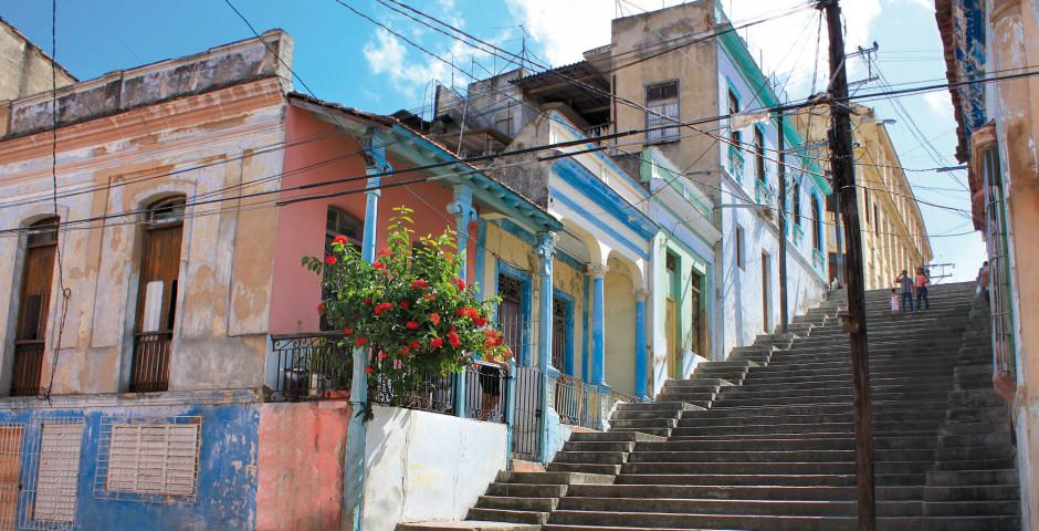 Bunte Häuser - Santiago de Cuba