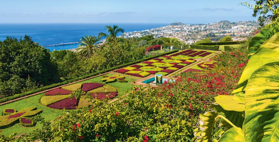 Botanischer Garten in Funchal / Madeira - Rundreise Madeira und Porto Santo entdecken