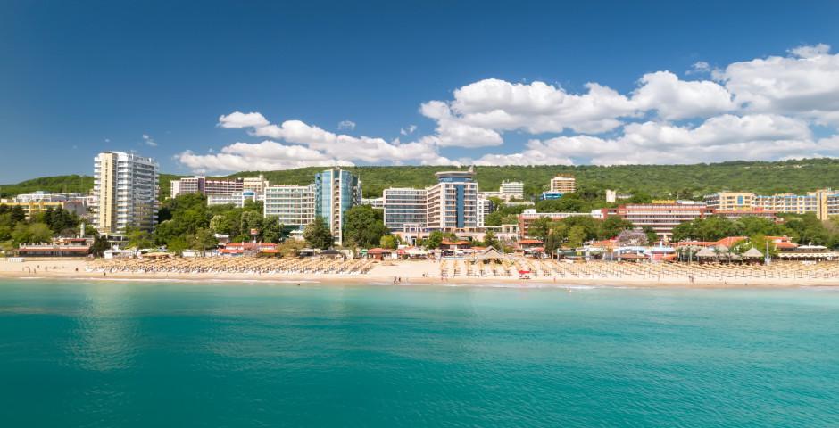 Vue sur la ville et la plage - Varna