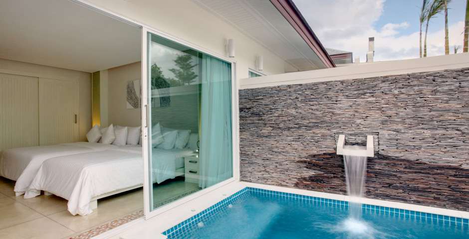 Villa avec vue parc et piscine