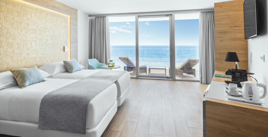 Chambre double Deluxe Artemisa / Chambre double Deluxe avec balcon ou terrasse et vue mer.