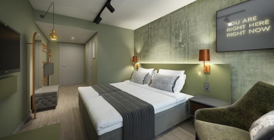 chambres - Scandic Continental