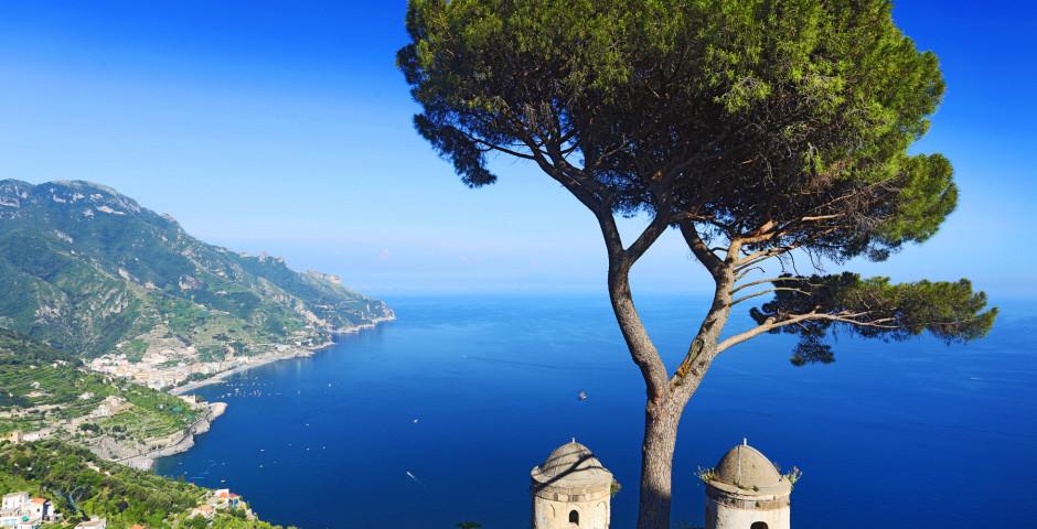 Aussicht auf die Amalfiküste
