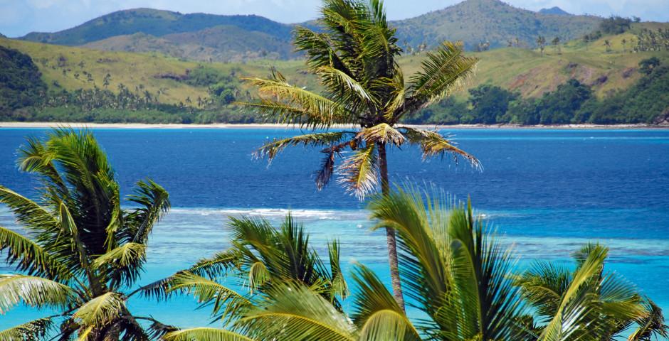 Vue du Pacifique, Fiji