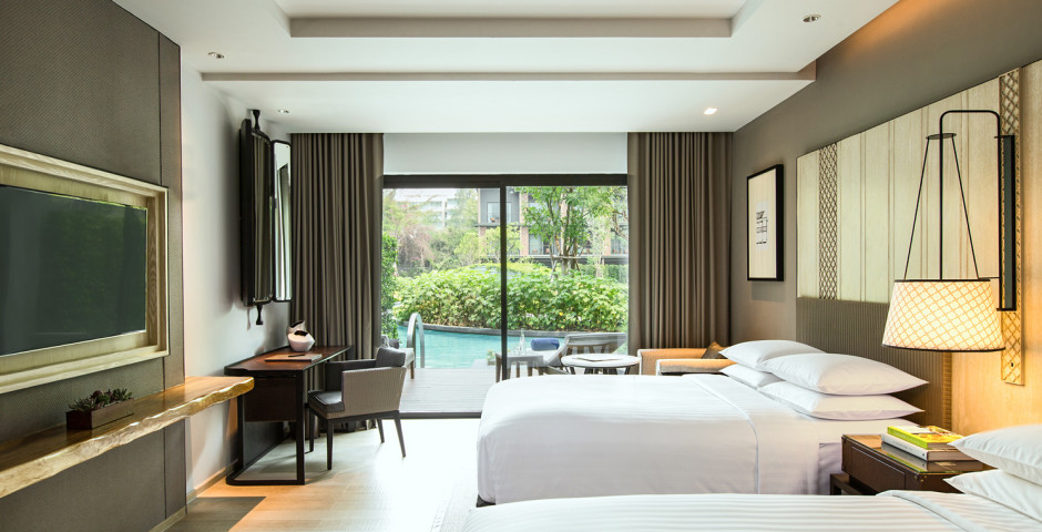 Chambre double Deluxe Pool Access