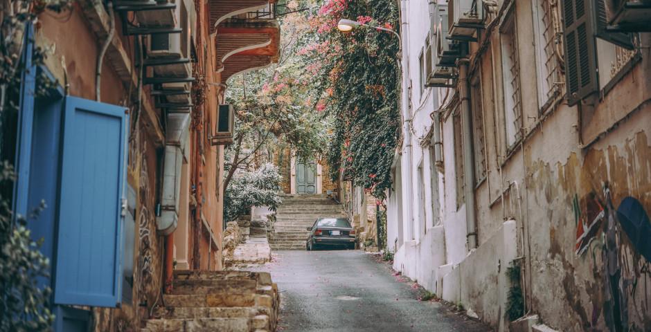 Une allée dans le quartier de Gemmayze