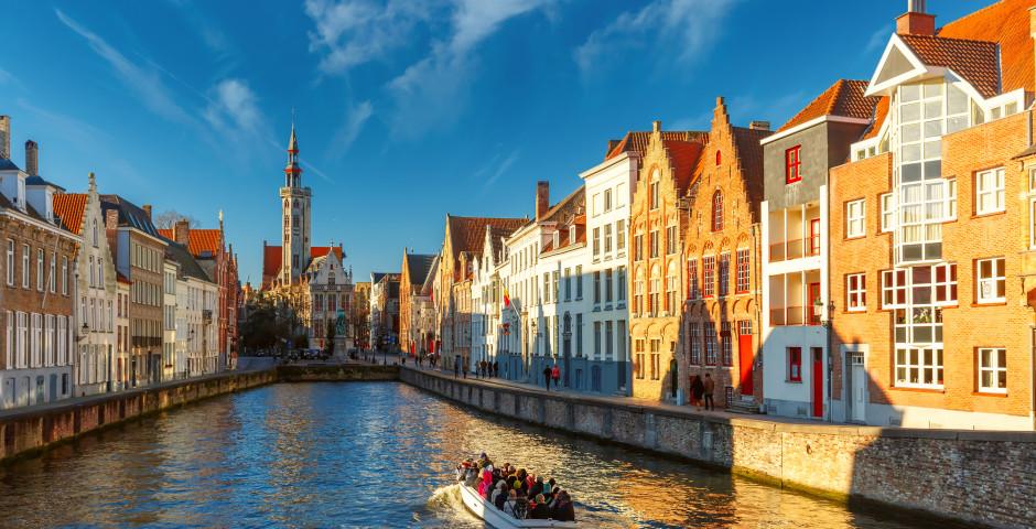 Tour en bateau sur les canaux de Bruges