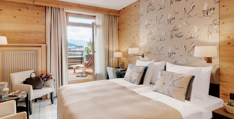 Doppelzimmer Deluxe - Morosani Schweizerhof