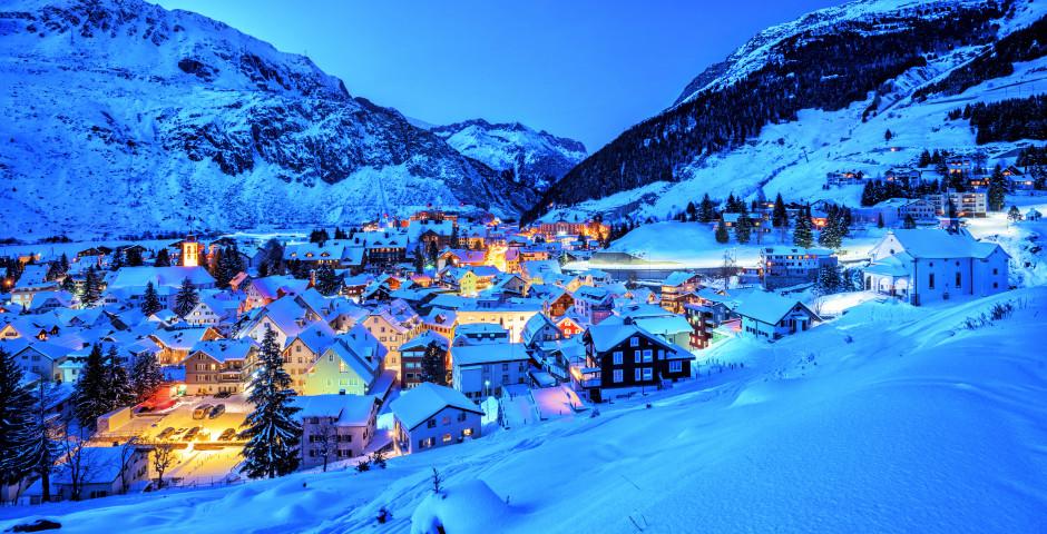 Andermatt im Winter - Andermatt