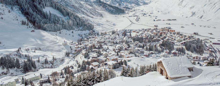 Andermatt im Winter
