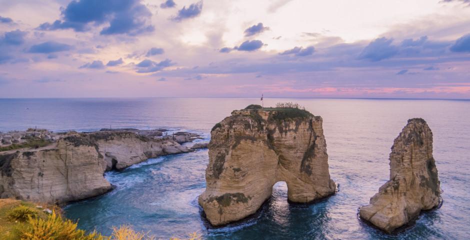 Felsen von Raouche, Pigeon Rocks - Libanon