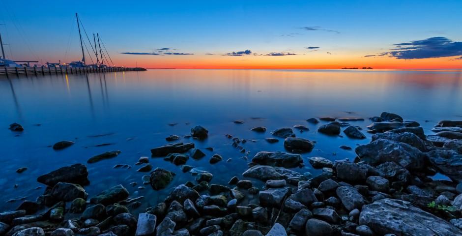 Sonnenuntergang, Lake Superior