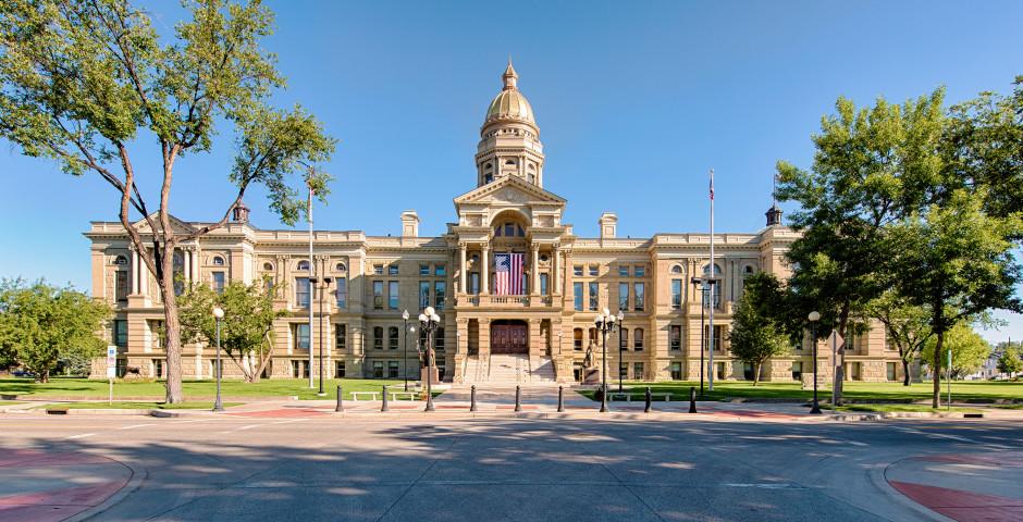 Wyoming State Capitol - Cheyenne